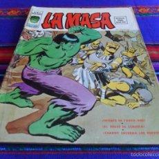 Cómics: VÉRTICE VOL. 2 LA MASA Nº 3. 1974. 30 PTS. TRIUNFO EN TIERRA-DOS. DIFÍCIL!!!!. Lote 57869762