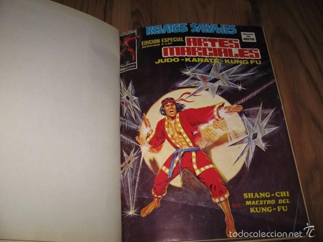 Cómics: Relatos salvajes mundi comics Vertice 1975-1976 encuadernados 7 tomos números 1 al 42 - Foto 3 - 57958231