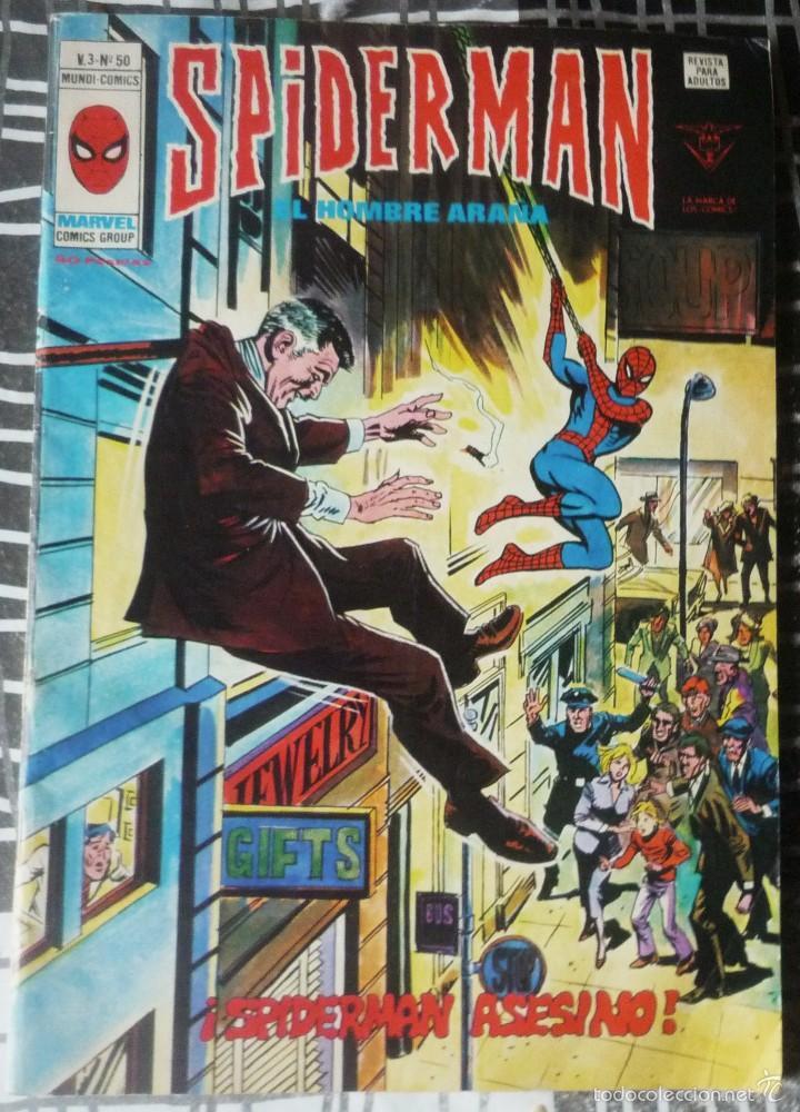 SPIDERMAN V.3 Nº 50 (Tebeos y Comics - Vértice - V.3)