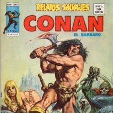 Cómics: COMIC VERTICE 1977 RELATOS SALVAJES VOL1 Nº 43 ( CONAN ) MUY BUEN ESTADO. Lote 57978462