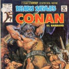 Cómics: COMIC VERTICE 1979 RELATOS SALVAJES VOL1 Nº 66 ( CONAN ). Lote 57978817