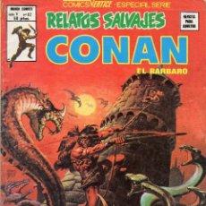 Cómics: COMIC VERTICE 1979 RELATOS SALVAJES VOL1 Nº 67 ( CONAN ) MUY BUEN ESTADO. Lote 57978917