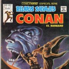 Cómics: COMIC VERTICE 1979 RELATOS SALVAJES VOL1 Nº 68 ( CONAN ) BUEN ESTADO. Lote 57978983
