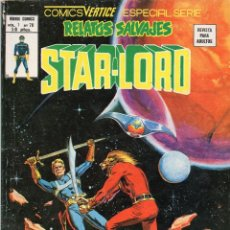 Cómics: COMIC VERTICE 1979 RELATOS SALVAJES VOL1 Nº 70 ( STAR-LORD ) BUEN ESTADO. Lote 57979196