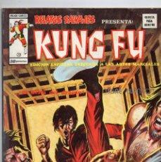 Cómics: COMIC VERTICE 1976 RELATOS SALVAJES KUNG FU VOL1 Nº 20 (MUY BUEN ESTADO). Lote 57979446