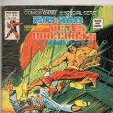 Cómics: COMIC VERTICE 1979 RELATOS SALVAJES KUNG FU VOL1 Nº 49 BUEN ESTADO. Lote 57979881