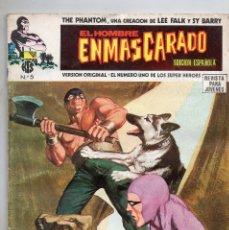 Cómics: COMIC VERTICE 1974 EL HOMBRE ENMASCARADO Nº 5 (MUY BUEN ESTADO). Lote 58014757