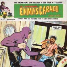 Cómics: COMIC VERTICE 1974 EL HOMBRE ENMASCARADO Nº 34 (MUY BUEN ESTADO). Lote 58014912