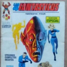 Cómics: 4 FANTASTICOS Nº 6 VERTICE VOL. 1 POCKETT. Lote 58073687