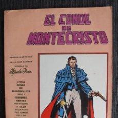 Cómics: MUNDI COMICS CLASICOS Nº 1 EL CONDE DE MONTECRISTO EDITORIAL VERTICE. Lote 58137452