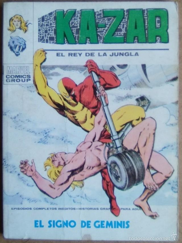 Cómics: KA-ZAR Nº 6 VERTICE VOL. 1 POCKETT - Foto 1 - 58211866