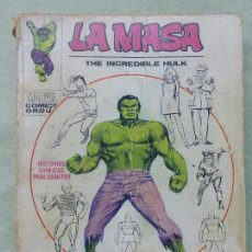 Cómics: VÉRTICE VOL.1 EDICIÓN GIGANTE LA MASA-EL INCREÍBLE HULK -1971.AVENTURAS LA MASA-COMPLETO.MUY DIFÍCIL. Lote 58244849