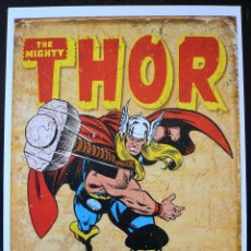 Cómics: CARTEL THOR MARVEL COMICS 45 X 32 CM. Lote 58266062