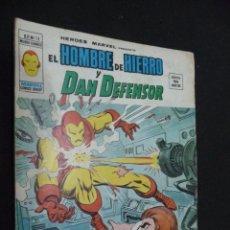 Cómics: HÉROES MARVEL. VOL 2. Nº 13. EL HOMBRE DE HIERRO Y DAN DEFENSOR. Lote 58266348