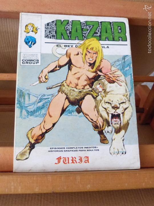KAZAR Nº 1 KA-ZAR (VÉRTICE TACO, COMPLETO Y EN BUEN ESTADO) (Tebeos y Comics - Vértice - V.1)