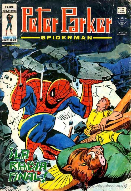 PETER PARKER SPIDERMAN VOL.1 # 8 (VERTICE,1979) (Tebeos y Comics - Vértice - V.1)