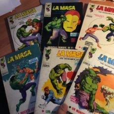 Cómics: LOTE LA MASA Nº 2, 3, 8, 14 Y 19 TACO (VERTICE 25 PTAS) (COIB16). Lote 58434066
