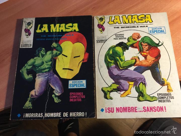 Cómics: LOTE LA MASA Nº 2, 3, 8, 14 Y 19 TACO (VERTICE 25 PTAS) (COIB16) - Foto 2 - 58434066