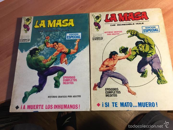 Cómics: LOTE LA MASA Nº 2, 3, 8, 14 Y 19 TACO (VERTICE 25 PTAS) (COIB16) - Foto 3 - 58434066
