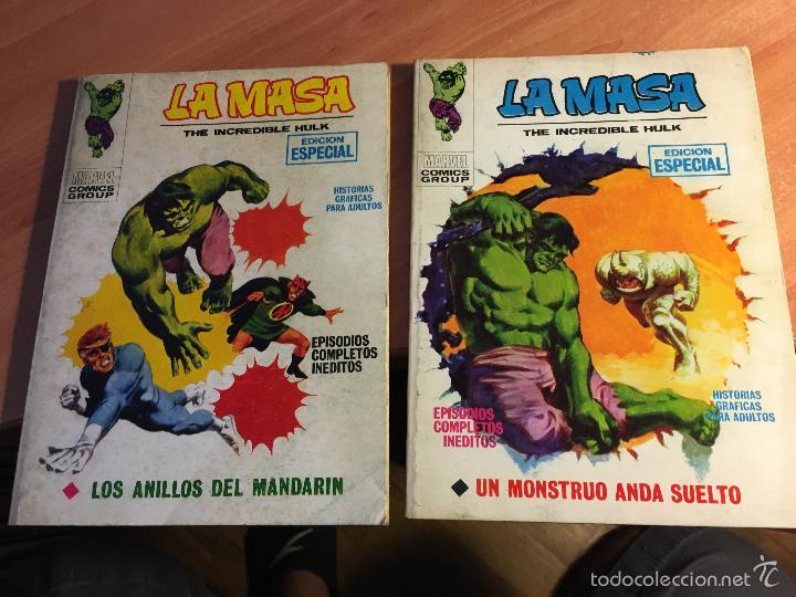 Cómics: LOTE LA MASA Nº 2, 3, 8, 14 Y 19 TACO (VERTICE 25 PTAS) (COIB16) - Foto 4 - 58434066
