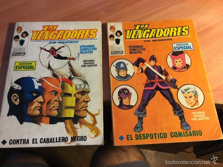 Cómics: LOTE LOS VENGADORES Nº 7, 8, 9, 11, 12, 14, 16, 19, 22, 23, 25, 26, 28, 29 TACO ( 25 PTAS) (COIB16) - Foto 2 - 58434186