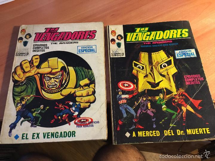 Cómics: LOTE LOS VENGADORES Nº 7, 8, 9, 11, 12, 14, 16, 19, 22, 23, 25, 26, 28, 29 TACO ( 25 PTAS) (COIB16) - Foto 3 - 58434186