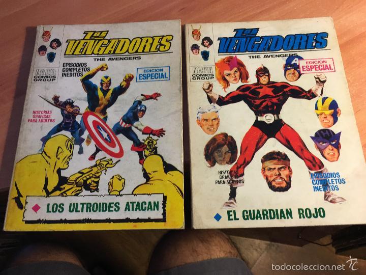 Cómics: LOTE LOS VENGADORES Nº 7, 8, 9, 11, 12, 14, 16, 19, 22, 23, 25, 26, 28, 29 TACO ( 25 PTAS) (COIB16) - Foto 5 - 58434186
