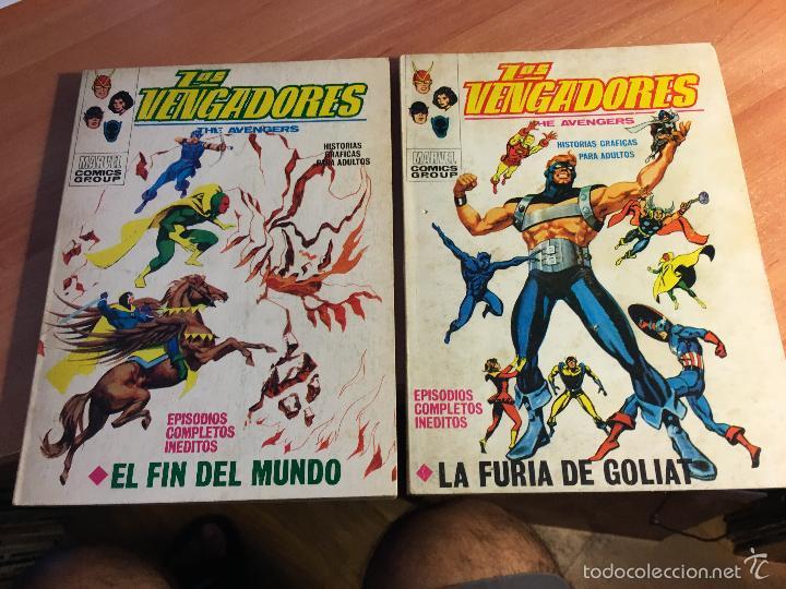 Cómics: LOTE LOS VENGADORES Nº 7, 8, 9, 11, 12, 14, 16, 19, 22, 23, 25, 26, 28, 29 TACO ( 25 PTAS) (COIB16) - Foto 8 - 58434186