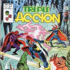 Cómics: COMIC VERTICE 1980 TRIPLE ACCION VOL1 Nº 10 (MUY BUEN ESTADO). Lote 58459232