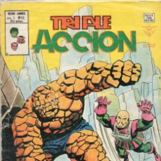 Cómics: COMIC VERTICE 1980 TRIPLE ACCION VOL1 Nº 13 (BUEN ESTADO). Lote 58459345