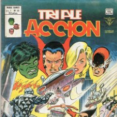 Cómics: COMIC VERTICE 1980 TRIPLE ACCION VOL1 Nº 16 (MUY BUEN ESTADO). Lote 58459690