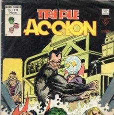 Cómics: COMIC VERTICE 1980 TRIPLE ACCION VOL1 Nº 19 (MUY BUEN ESTADO). Lote 58476373