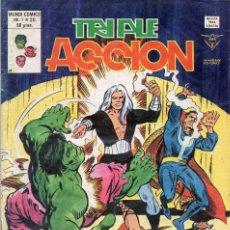 Cómics: COMIC VERTICE 1980 TRIPLE ACCION VOL1 Nº 20 (MUY BUEN ESTADO). Lote 58476409