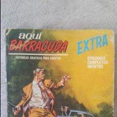Cómics: AQUÍ BARRACUDA VERTICE NÚMERO 2. Lote 58531453