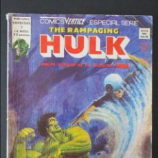Cómics: THE RAMPAGING HULK Nº 7. LA MASA. VERTICE. Lote 58557546