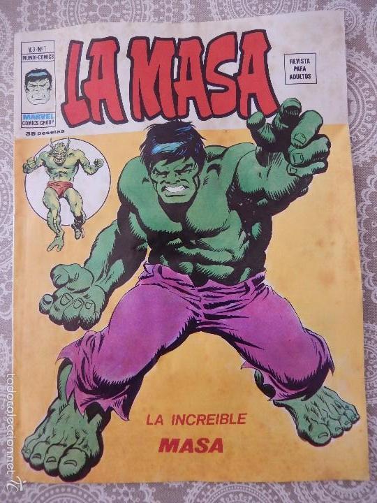 LA MASA V.3-Nº1 LA INCREIBLE MASA (Tebeos y Comics - Vértice - La Masa)