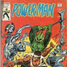 Cómics: COMIC VERTICE 1980 POWER-MAN VOL1 Nº 24 (BUEN ESTADO). Lote 58575953