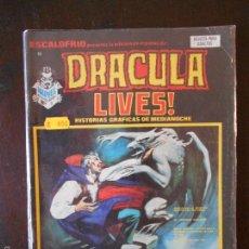 Cómics: ESCALOFRIO Nº 11- DRACULA LIVES! - HISTORIAS GRAFICAS DE MEDIANOCHE - VERTICE (P1). Lote 58593339