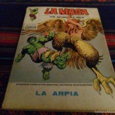 Cómics: VÉRTICE VOL. 1 LA MASA Nº 33. 30 PTS. 1973. LA ARPÍA.. Lote 58607539