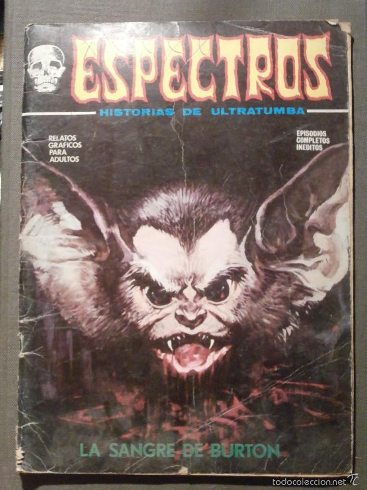 COMIC - ESPECTROS - HISTORIAS DE ULTRATUMBA - Nº 28 - LA SANGRE DE BURTON - 1974 - VERTICE - (Tebeos y Comics - Vértice - Terror)