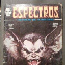 Cómics: COMIC - ESPECTROS - HISTORIAS DE ULTRATUMBA - Nº 28 - LA SANGRE DE BURTON - 1974 - VERTICE - . Lote 58645085