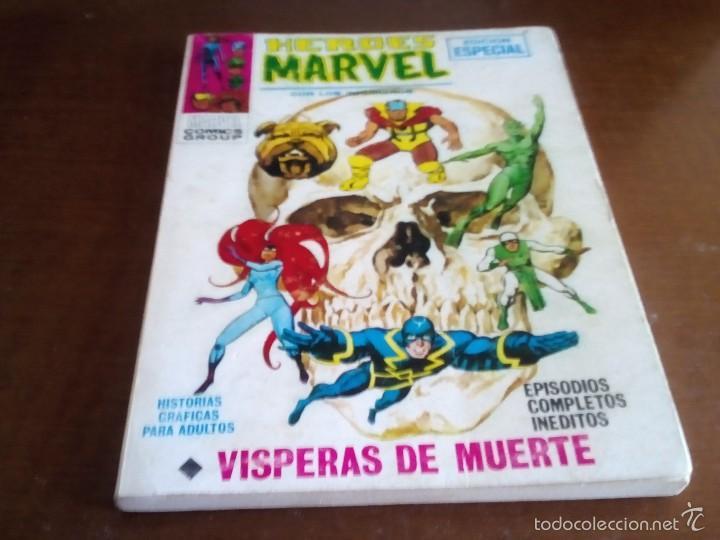 HEROES MARVEL N-6 (Tebeos y Comics - Vértice - Super Héroes)