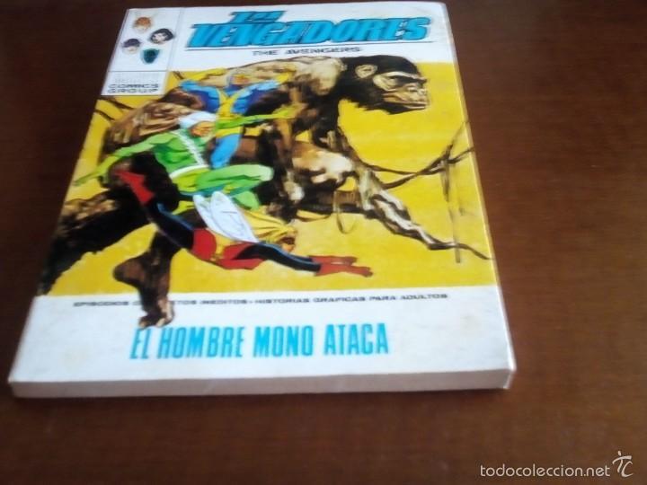 VENGADORES N-35 (Tebeos y Comics - Vértice - Vengadores)