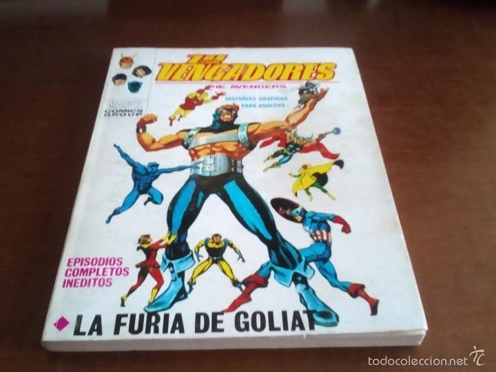 VENGADORES N-29 (Tebeos y Comics - Vértice - Vengadores)