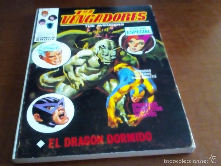 VENGADORES N-18 (Tebeos y Comics - Vértice - Vengadores)