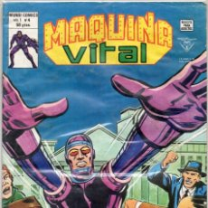 Cómics: COMIC VERTICE 1980 MAQUINA VITAL VOL1 Nº 4 (MUY BUEN ESTADO). Lote 58685019