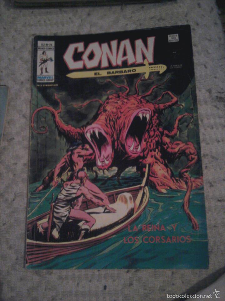 Cómics: Conan el Bárbaro 26 27 28 29 30 31 32 33 36 37 38 39 40 41 42 y 43 - Vértice - nºs sueltos - Foto 3 - 58772026