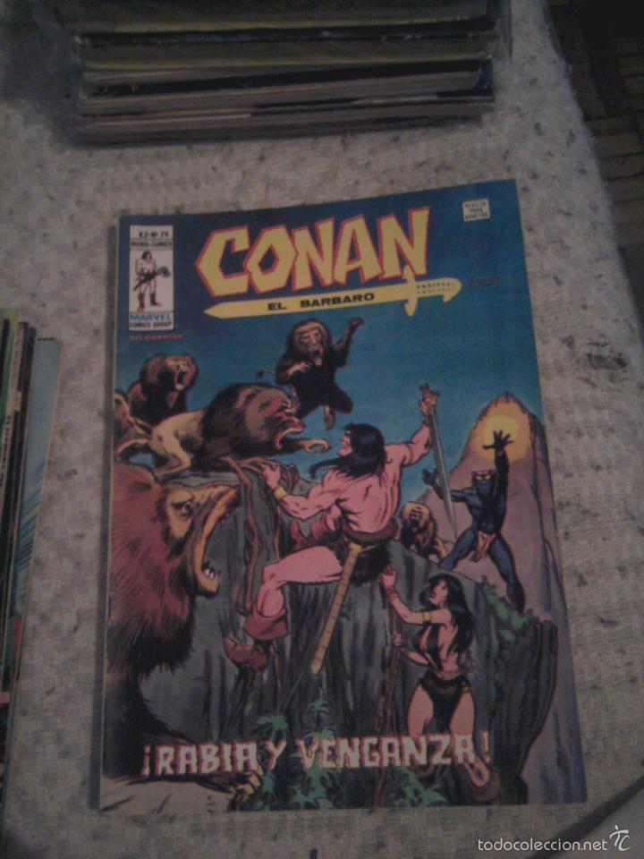 Cómics: Conan el Bárbaro 26 27 28 29 30 31 32 33 36 37 38 39 40 41 42 y 43 - Vértice - nºs sueltos - Foto 5 - 58772026
