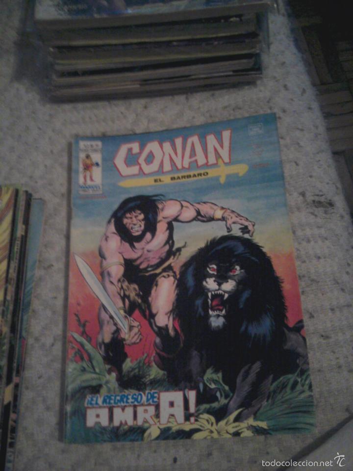 Cómics: Conan el Bárbaro 26 27 28 29 30 31 32 33 36 37 38 39 40 41 42 y 43 - Vértice - nºs sueltos - Foto 6 - 58772026