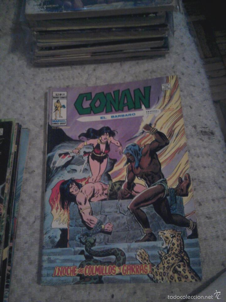 Cómics: Conan el Bárbaro 26 27 28 29 30 31 32 33 36 37 38 39 40 41 42 y 43 - Vértice - nºs sueltos - Foto 7 - 58772026